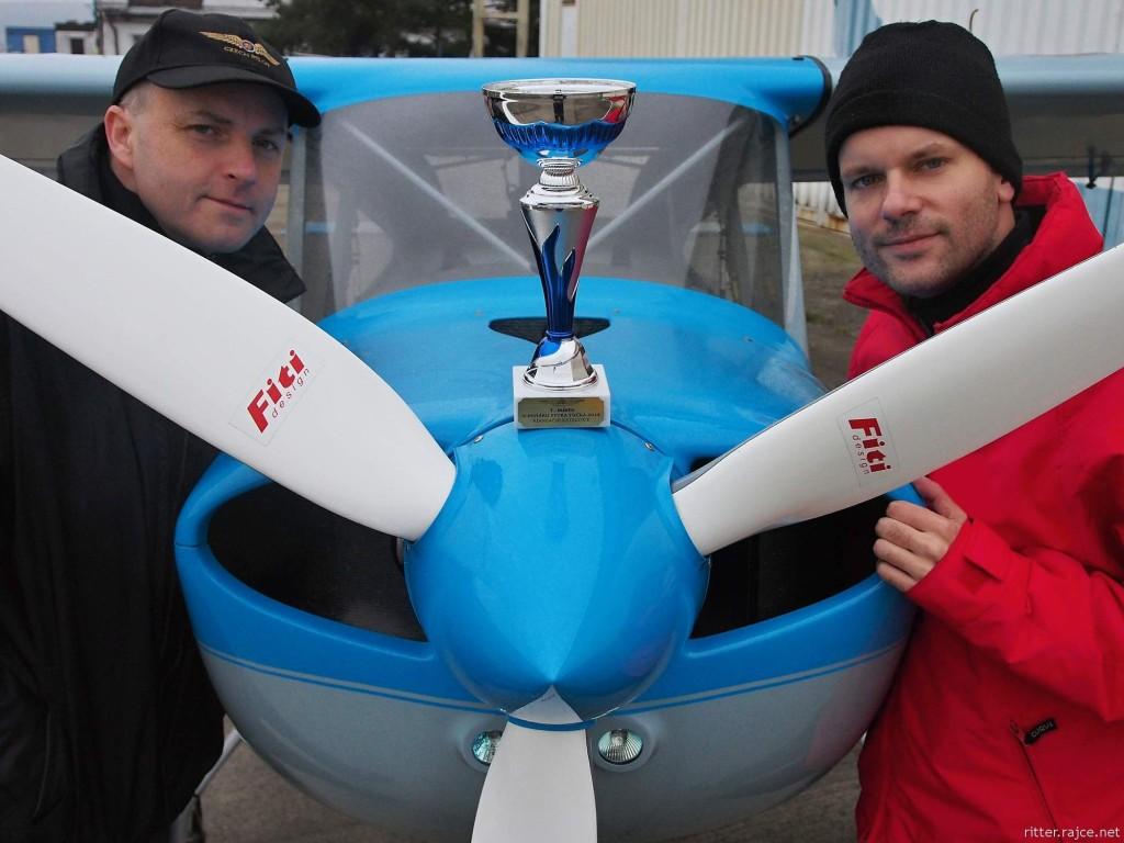 létání - pohár