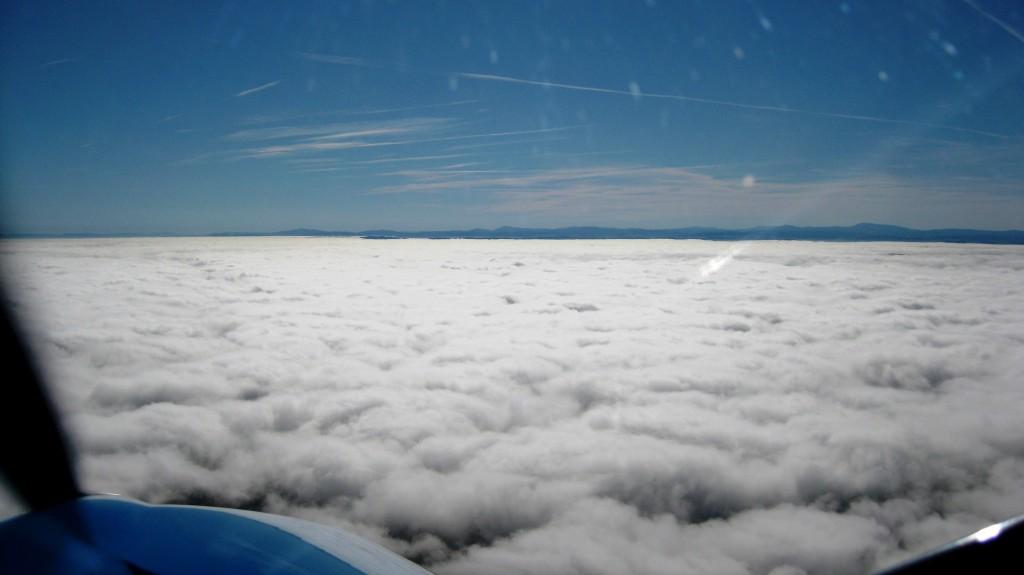 létání v zimě